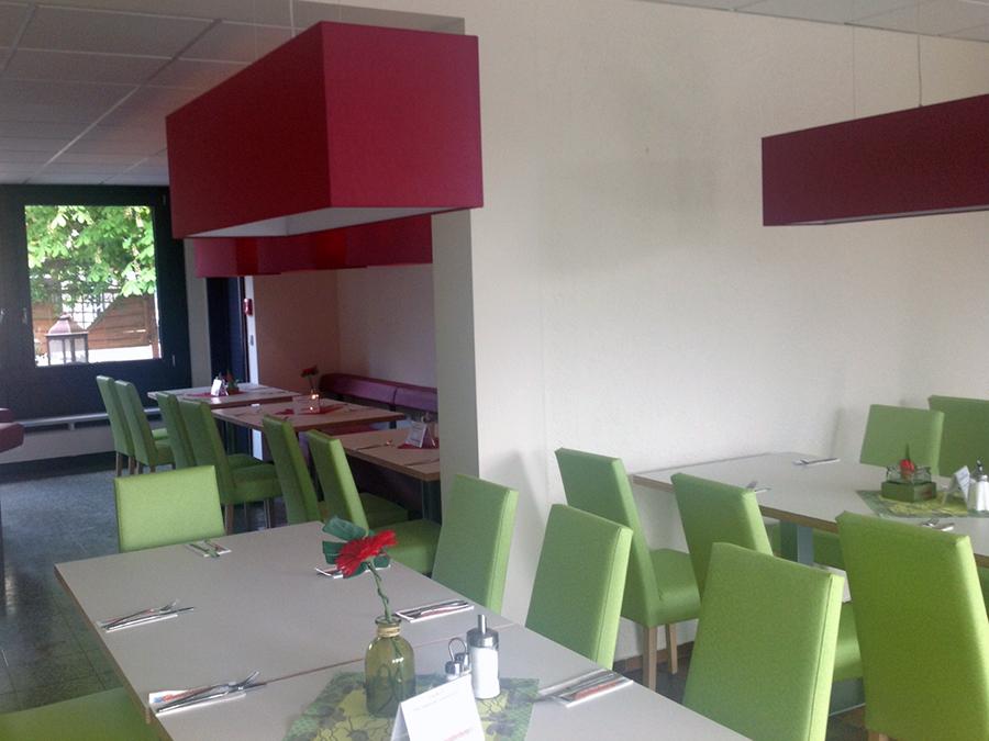 Der Frühstücksraum des Jugendgästehaus Oberwesel