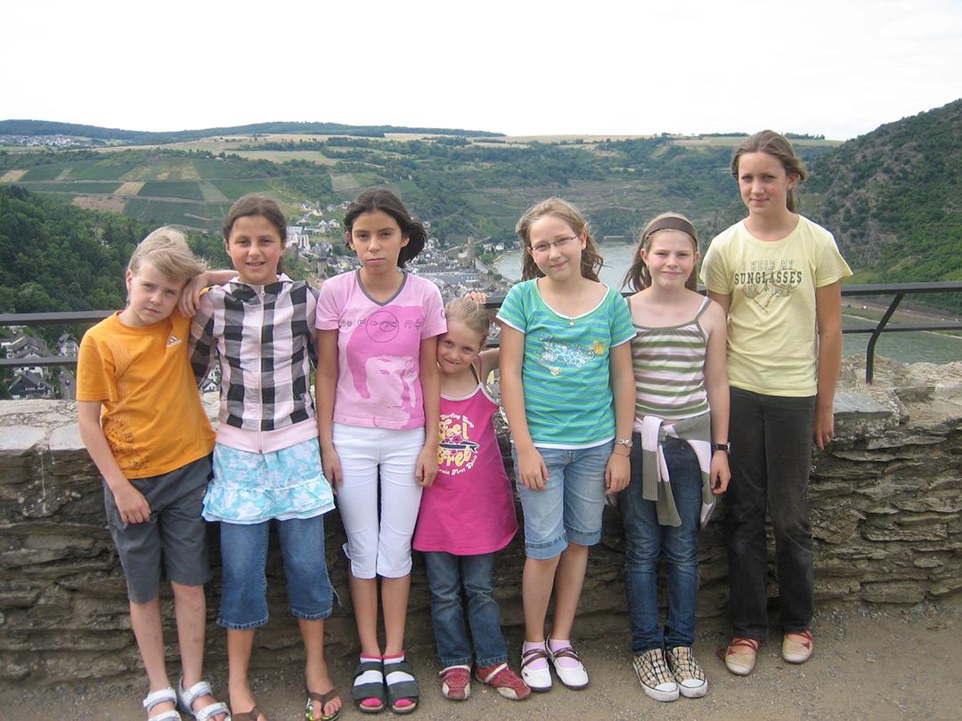 Teilnehmer auf der Schönburg