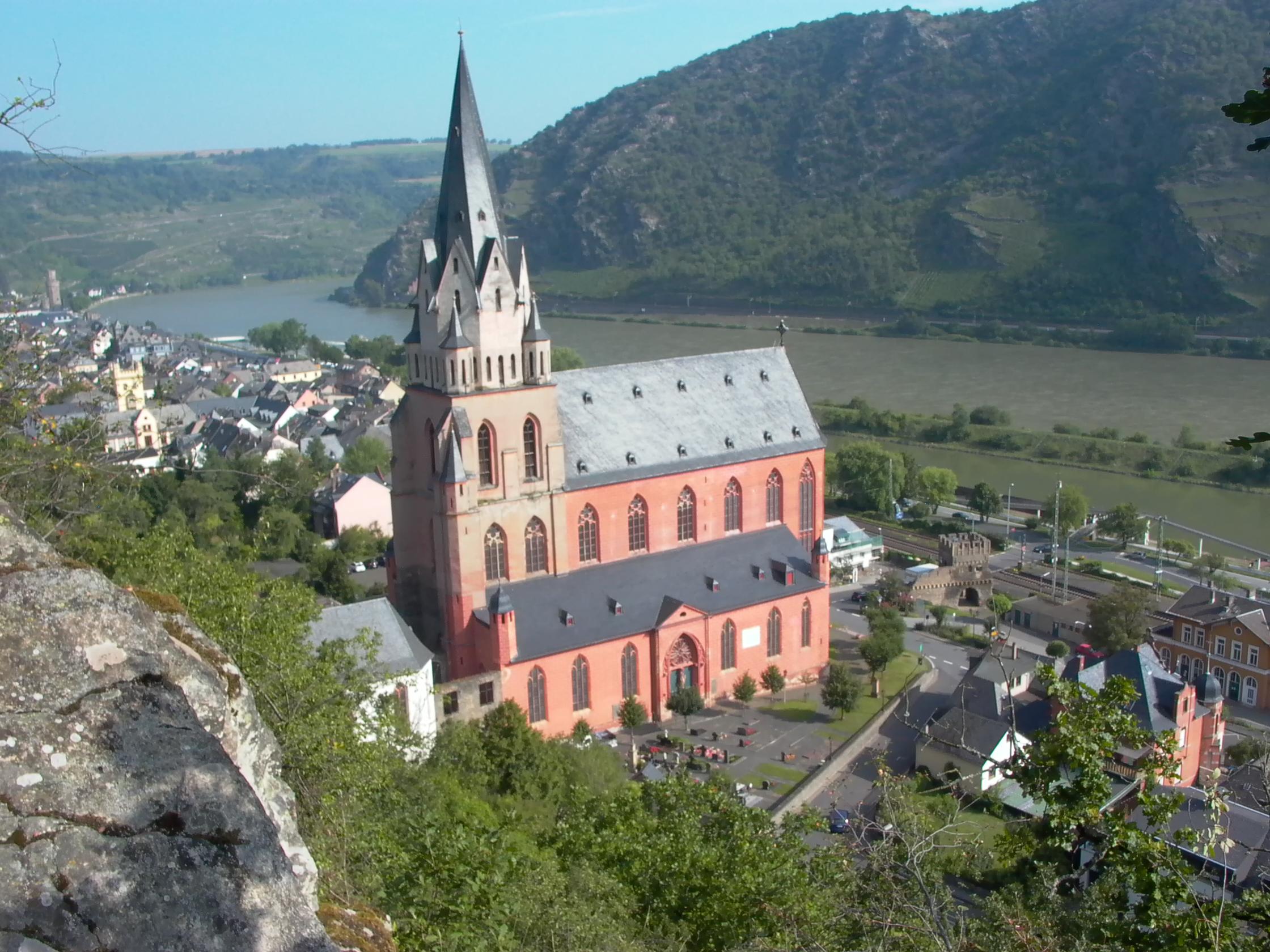 Die Liebfrauenkirche in Oberwesel. Hier findet das große Abschlußkonzert statt