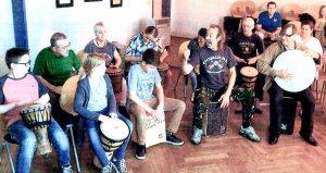 Drums und Percussion Workshop unter der Leitung von Günter Bozem.